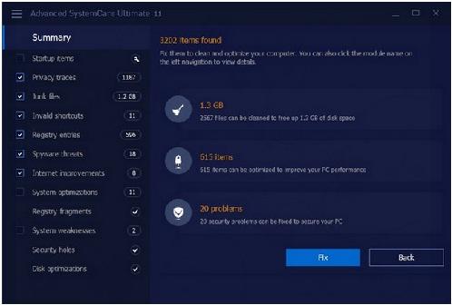 Phan mem diet virus Advanced SystemCare Ultimate