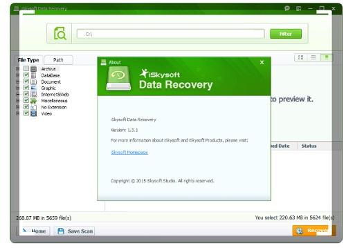 Phan mem cuu du lieu may tinh iSkysoft Data RecoveryPhan mem cuu du lieu may tinh iSkysoft Data Recovery