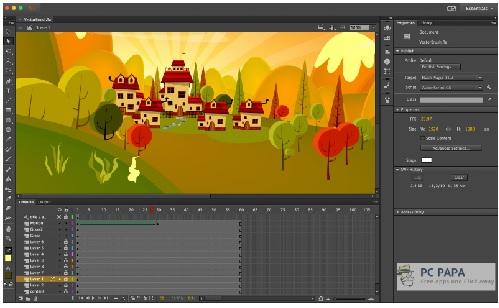 Phan mem do hoa vector Adobe Animate CC 2019