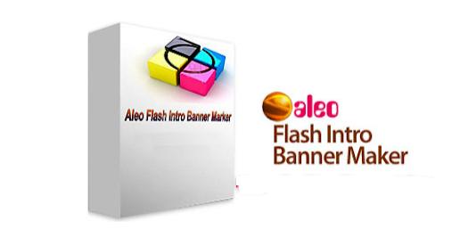 Phan mem thiet ke banner Aleo Flash Intro Banner Maker 4.1