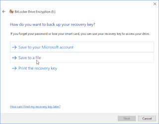 BitLocker windows 10 16