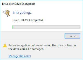 BitLocker windows 10 20