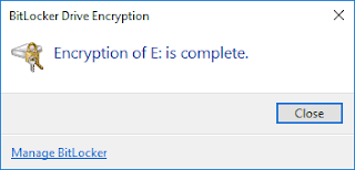 BitLocker windows 10 21