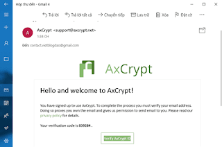 cai dat AxCrypt 3