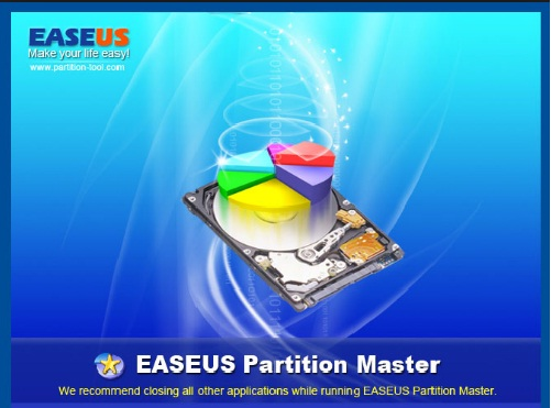 Phan mem quan ly phan vung may tinh EaseUS Partition Master