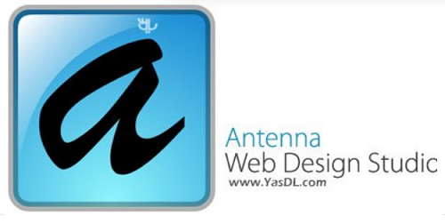 phan mem thiet ke website Antenna Web Design Studio 6