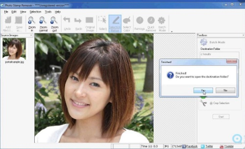 phan mem xoa dong dau Photo Stamp Remover 10.2