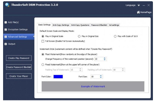 Phan mem bao ve tap tin da phuong tien Gilisoft video DRM Protection 4.0.