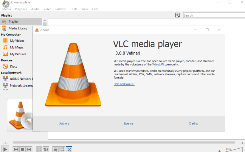 tai vlc media player 3.0.8