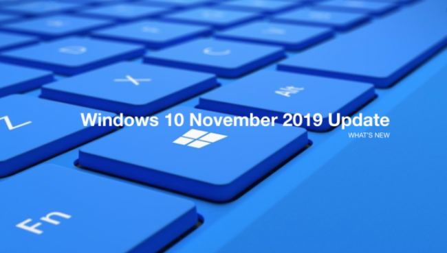 Windows 10 November Update (1909) 32bit 64bit