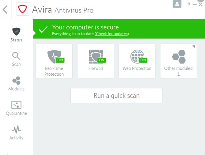 Avira Antivirus Security 2020 License Key