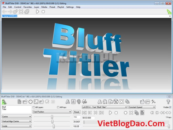 SETUP BluffTitler Ultimate Portable 14.7