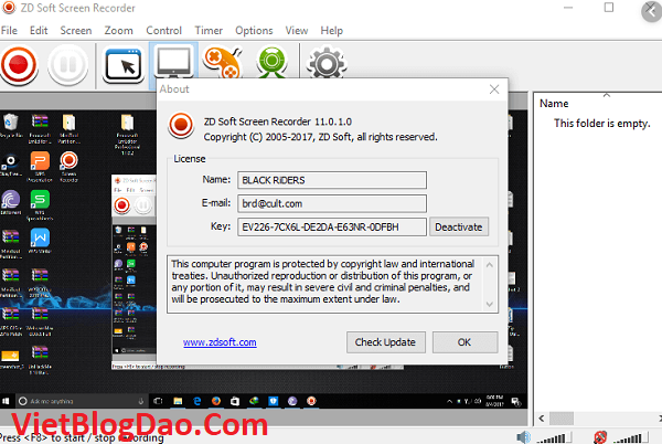 active ZD Soft Screen Recorder 11.2.1