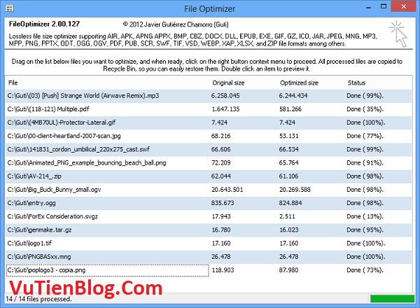 setup FileOptimizer 14.20