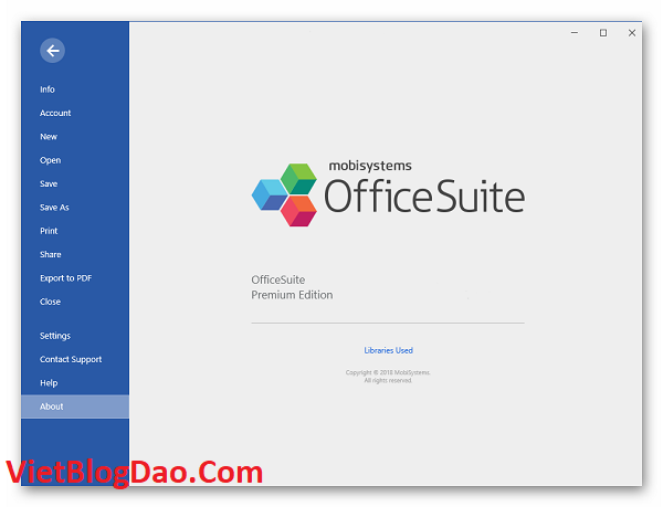OfficeSuite Premium Edition setup 4.2